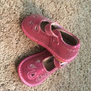 991d59f07a laniecakes. NWOT-Hot Pink Mary Jane Shoes